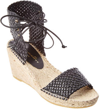 Bettye Muller Demee Leather Espadrille