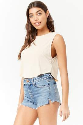 Forever 21 Slub Knit Tank Top