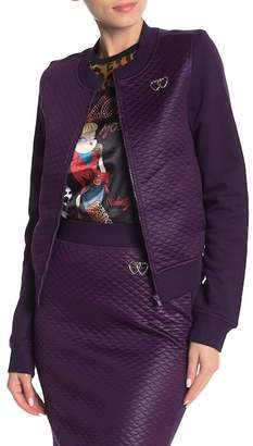 Love Moschino Front Zip Quilted Jacket