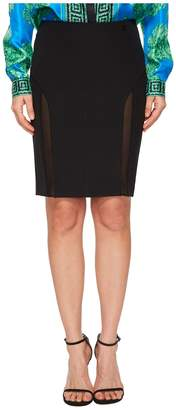 Versace Sheer Panel Skirt Women's Skirt