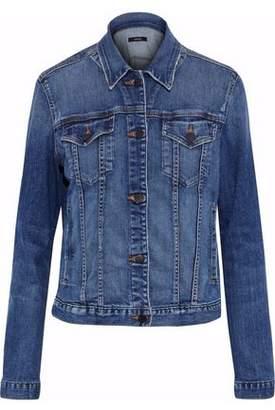 J Brand Revoke Distressed Denim Jacket