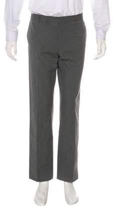 Maison Margiela Pinstripe Flat Front Pants