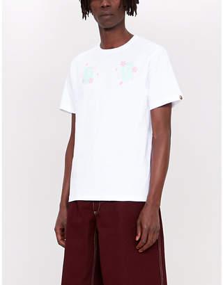 1aeccaf69 A Bathing Ape Sakura Souvenir cotton-jersey T-shirt