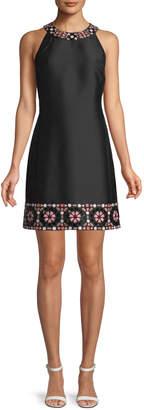 Kate Spade mosaic embellished shift dress