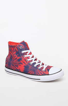 Converse Chuck Taylor All Star Hi Tie-Dye Shoes