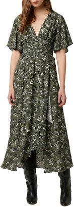 French Connection Ansa Floral Crepe Dress