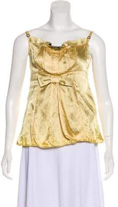 Marc Jacobs Sleeveless Pleated Top