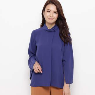 smartpink (スマートピンク) - スマートピンク smart pink スポンジージョーゼット ケープシャツ (ブルー)