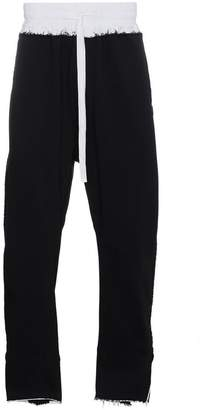 Haider Ackermann colourblock sweatpants