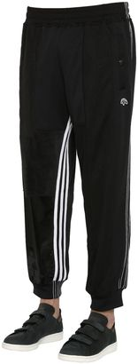 Velour & Nylon Track Pants $270 thestylecure.com