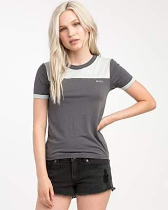 RVCA Junior's All Sport Color Block T-Shirt