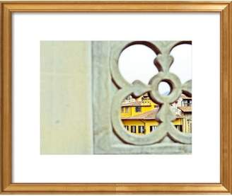 Florentine Window Framed Print, Artfully Walls