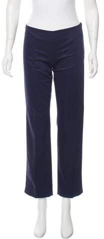 Emilio Pucci Mid-Rise Straight-Leg Pants w/ Tags