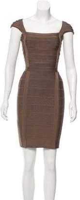 Herve Leger Kristen Bandage Dress