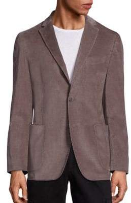 Saks Fifth Avenue COLLECTION Garment Washed Cord Jacket