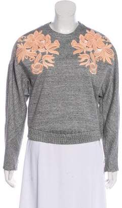 3.1 Phillip Lim Embroidered Knit Sweater