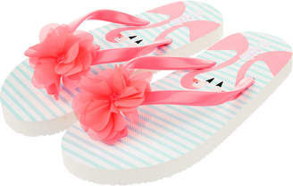 96e14b807979 Accessorize Felicity Flamingo EVA Flip Flops