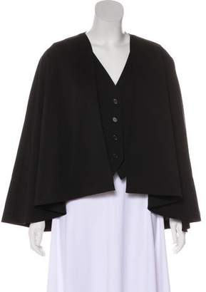 Chloé Wool Cape-Accepted Vest w/ Tags