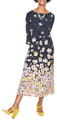 Boden Blossom Jersey Midi Dress