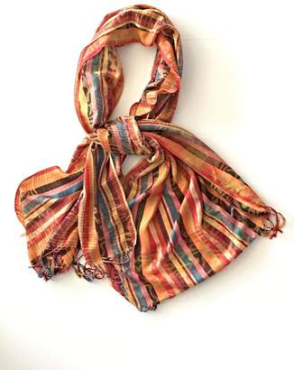 Cashmere Silk Scarf - Cashmere Silk STRIPES by VIDA VIDA