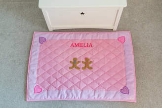 Kiddiewinkles Children's Gingerbread Pink Floor And Play Mat