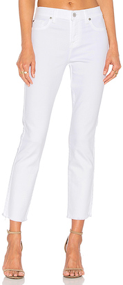 7 For All Mankind Roxanne Ankle Fray $169 thestylecure.com