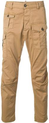 DSQUARED2 patch pockets cargo trousers
