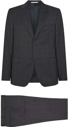 Pal Zileri Wool Check Suit