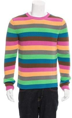 Loewe Striped Rib Knit Sweater w/ Tags