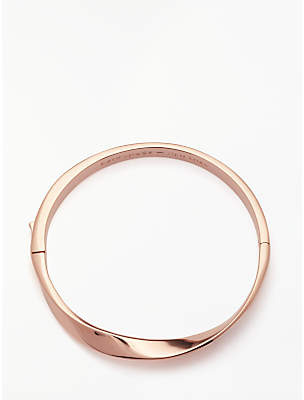 Kate Spade Hinged Asymmetric Bangle