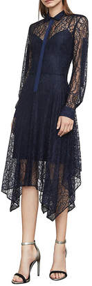 BCBGMAXAZRIA Beatryce Lace Handkerchief Dress