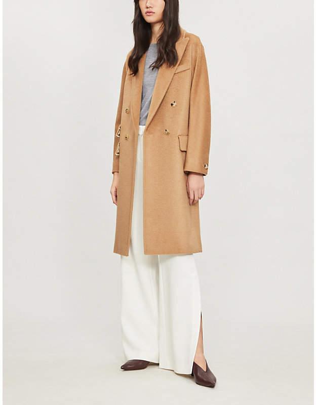 Max Mara Scout camel-wool coat