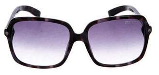 Jimmy Choo Square Gradient Sunglasses