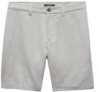 """Banana Republic 9"""" Cotton-Linen Aiden Slim Short"""