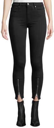 Black Orchid Nola Zip-Hem Skinny Jeans