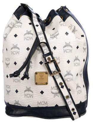 MCM Vintage Monogram Bucket Bag