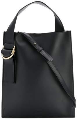Jil Sander Navy top handle shoulder bag