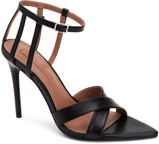 BCBGMAXAZRIA Daryl Leather Dressy Sandals