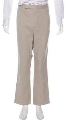 Thom Browne Twill Straight-Leg Pants
