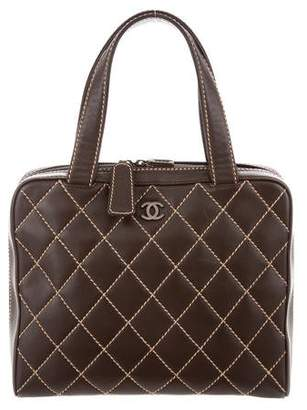 Chanel Surpique Bowler Bag