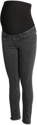 H&M MAMA Skinny Ankle Jeans - Gray
