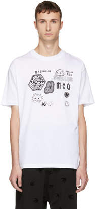 McQ White Swallow T-Shirt