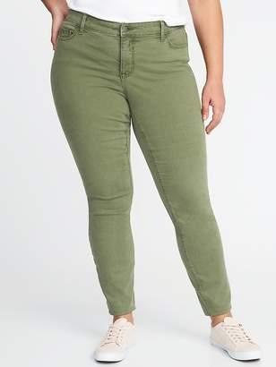 Old Navy High-Rise Secret-Slim Plus-Size Rockstar Jeans