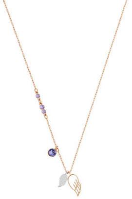 Swarovski Double Wing Pendant Necklace