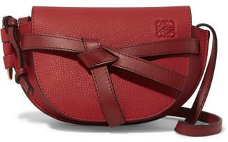 Loewe Gate Mini Textured-leather Shoulder Bag - one size
