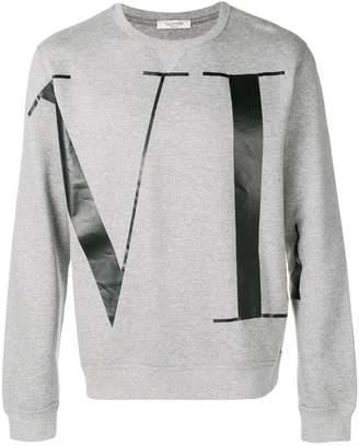 Valentino VLTN logo sweatshirt