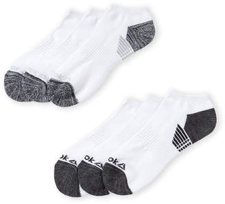 Reebok 6-Pack Performance Low Cut Socks