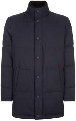 Stefano Ricci Fur Collar Quilted Jacket