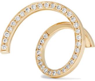 Sophie Bille Brahe Athene D'or 18-karat Gold Diamond Earring
