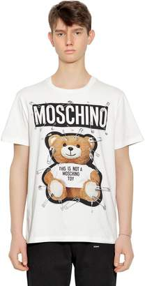 Moschino Teddy Bear Printed Jersey T-Shirt